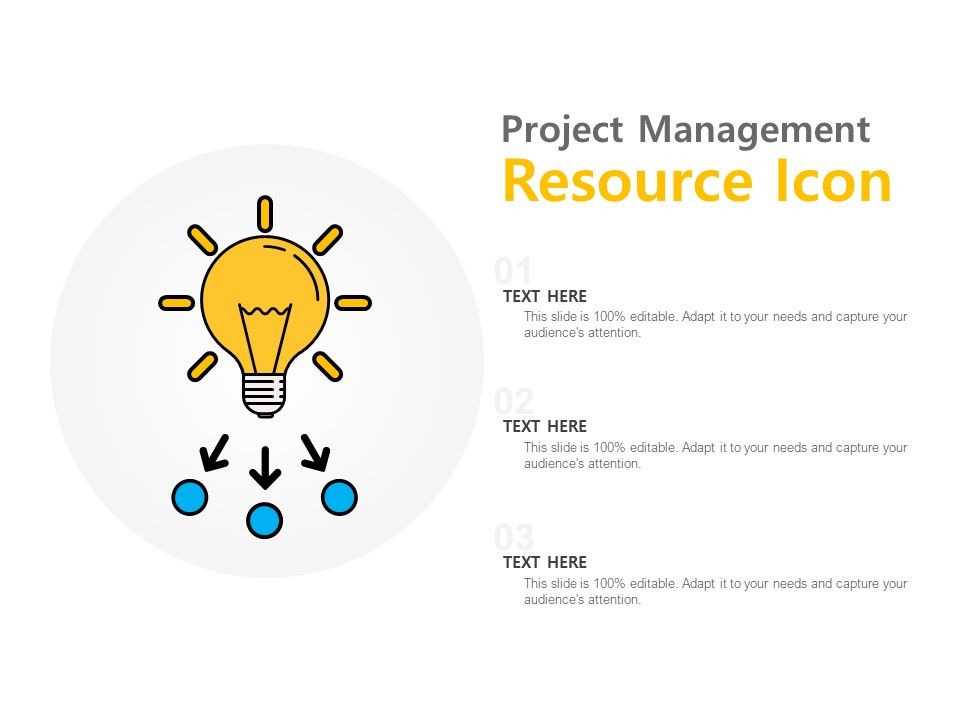 Project Management Resource Icon