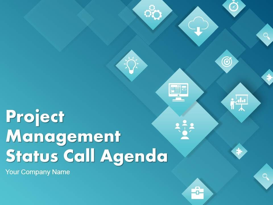 project_management_status_call_agenda_complete_powerpoint_deck_with_slides_Slide01