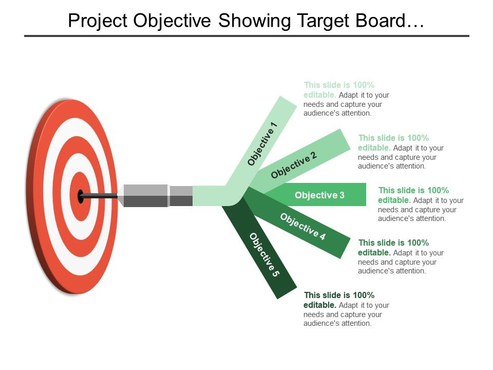 project_objective_showing_target_board_with_5_objective_options_Slide01