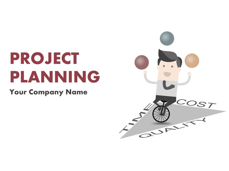 Project Planning Lifecycle Scope And Schedule Powerpoint