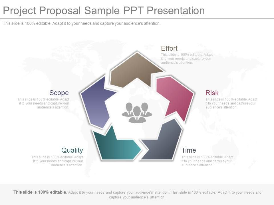project proposal sample ppt presentation | powerpoint slide images, Presentation templates