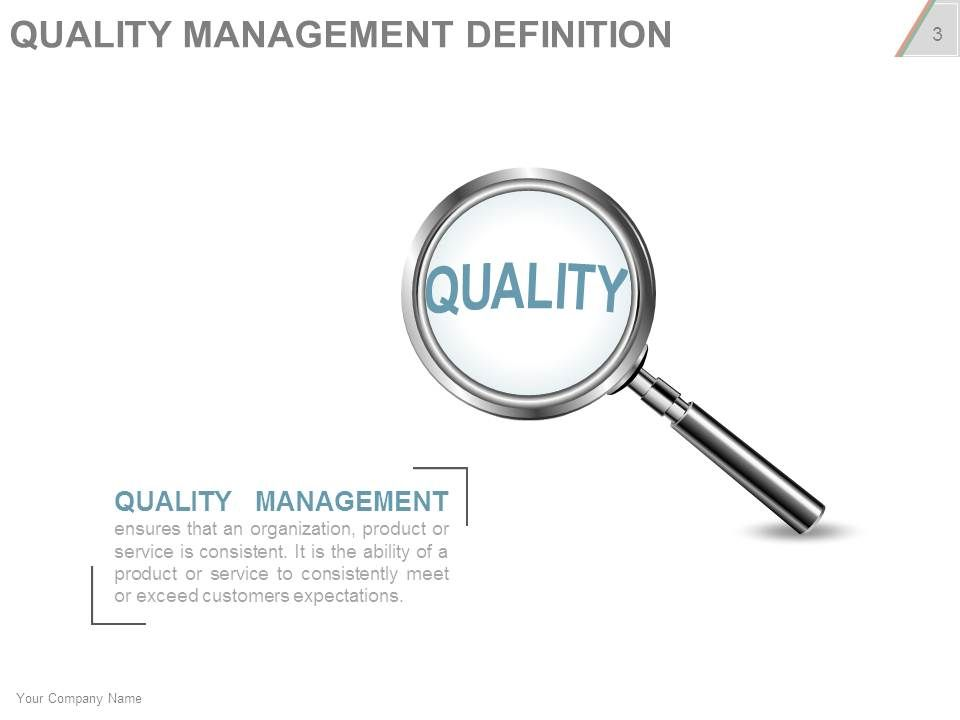 Project Quality Management Plan Checklist Powerpoint Presentation