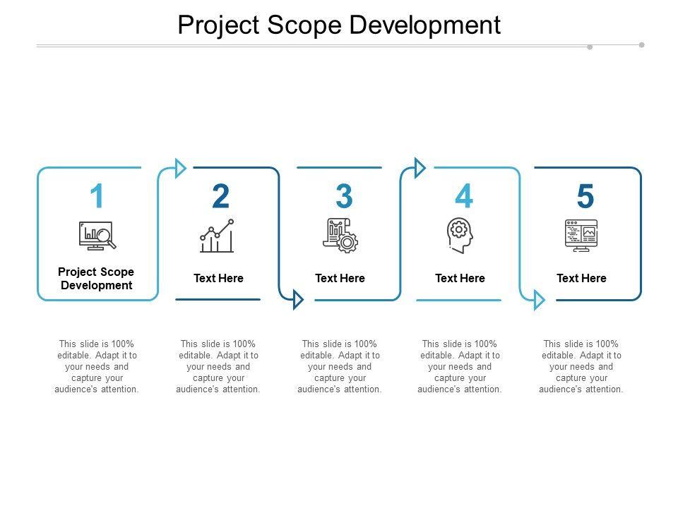 Project Scope Development Ppt Powerpoint Presentation Model