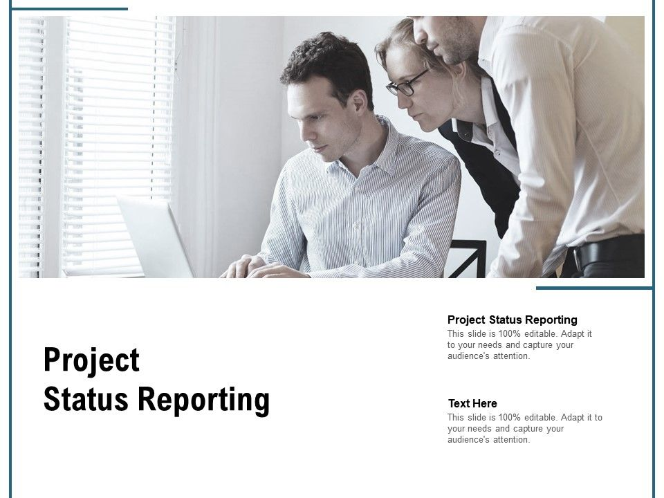 Project Status Reporting Ppt Powerpoint Presentation Model Design Templates Cpb