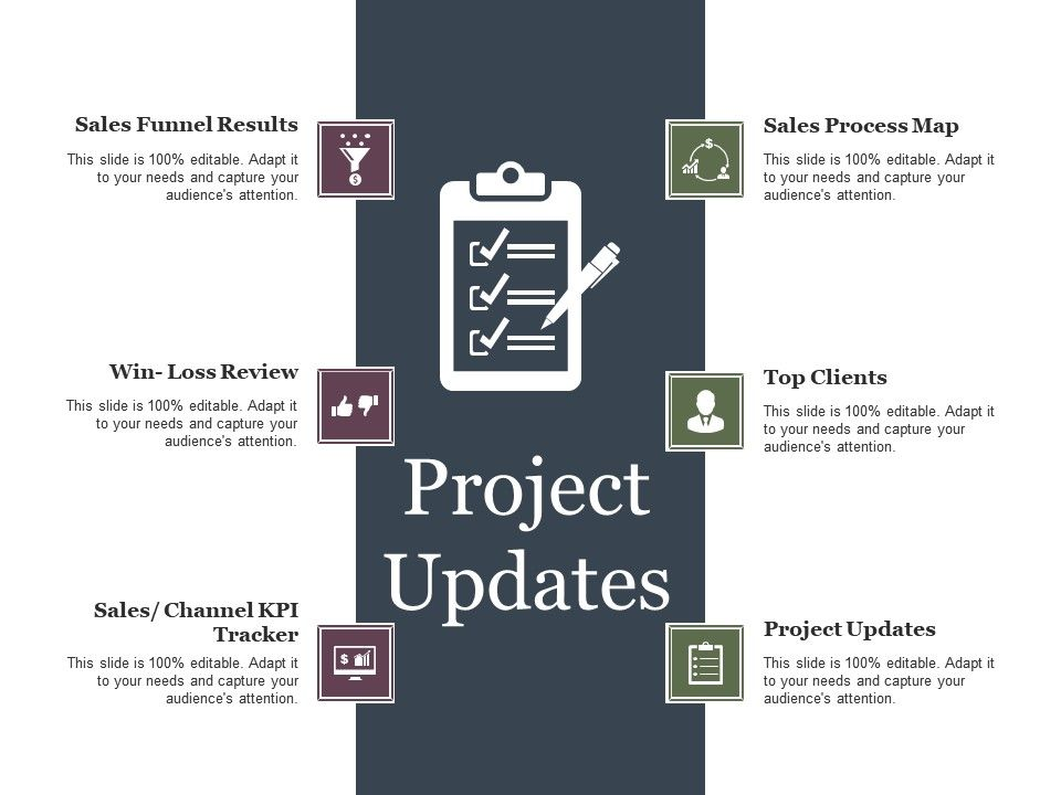 project updates ppt example professional powerpoint templates