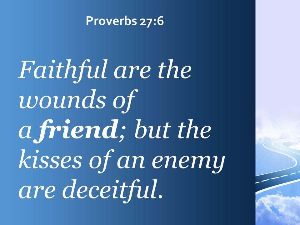 Proverbs Friendship Sermon : Proverbs a friend can be trusted powerpoint church sermon