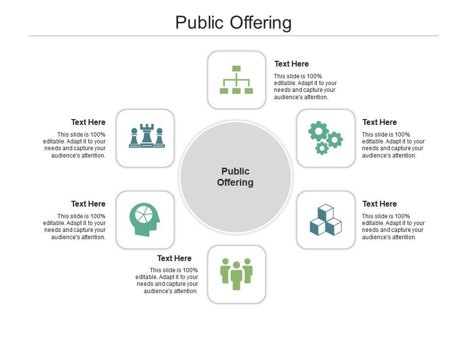 Public Offering Ppt Powerpoint Presentation Portfolio Maker Cpb