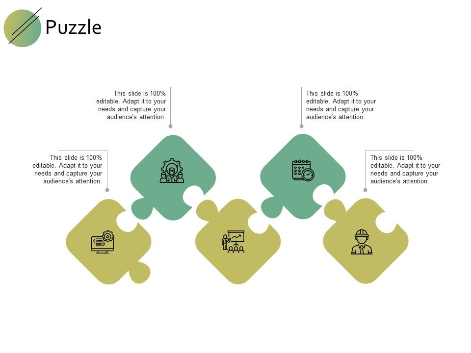 Puzzle Business Problem F740 Ppt Powerpoint Presentation Gallery Portfolio