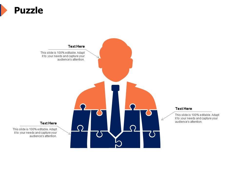 Puzzle Business Problem K283 Ppt Powerpoint Presentation Slide Download