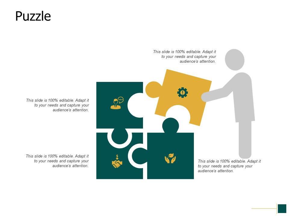 Puzzle Business Problem Ppt Powerpoint Presentation Pictures Professional