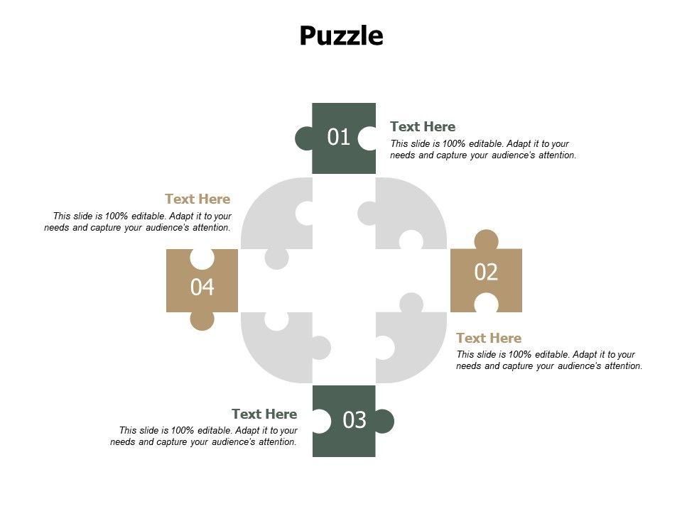 Puzzle Problem J219 Ppt Powerpoint Presentation File Aids