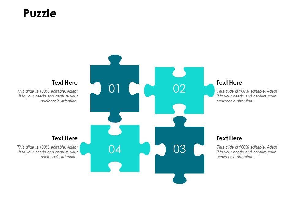 Puzzle Problem L243 Ppt Powerpoint Presentation Slides Outfit