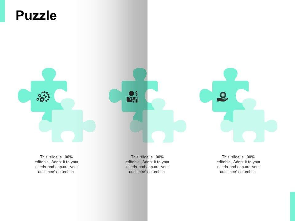 Puzzle Problem Solution Ppt Powerpoint Presentation Icon Slide Portrait