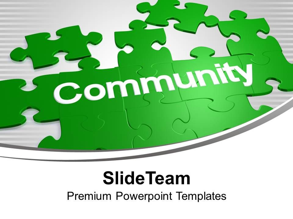 puzzles_forming_word_community_solution_powerpoint_templates_ppt_backgrounds_for_slides_0113_Slide01