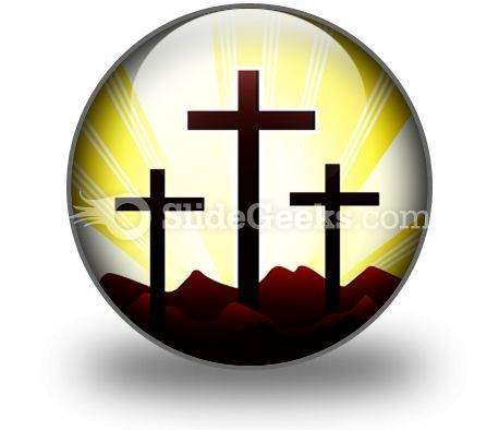 Cross Religion Ppt Icon For Ppt Templates And Slides C  Presentation Themes and Graphics Slide01
