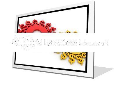 Digital Illustration Dollar PowerPoint Icon F  Presentation Themes and Graphics Slide01