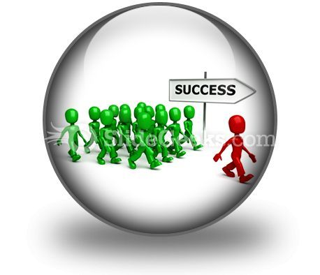 Find Success PowerPoint Icon C  Presentation Themes and Graphics Slide01