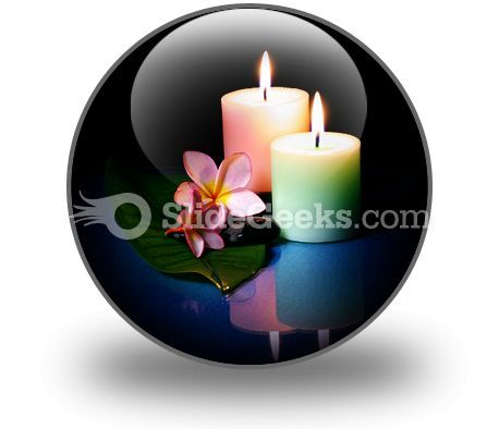 Frangipane Flower With Couple PowerPoint Icon C  Presentation Themes and Graphics Slide01