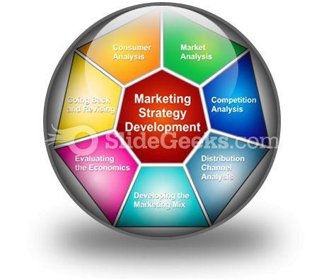 Marketing Strategies Development PowerPoint Icon C  Presentation Themes and Graphics Slide01