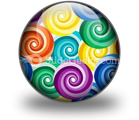 Seamless Vivid Swirl Pattern PowerPoint Icon C  Presentation Themes and Graphics Slide01