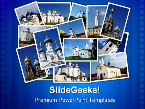 Ancient Orthodox Churches Religion PowerPoint Templates And PowerPoint Backgrounds 0211  Presentation Themes and Graphics Slide01