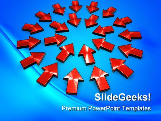 Arrows Background PowerPoint Templates And PowerPoint Backgrounds 0211  Presentation Themes and Graphics Slide01