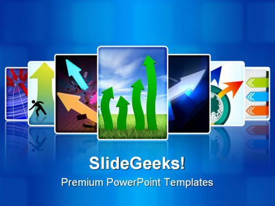 Arrows Collage Business PowerPoint Templates And PowerPoint Backgrounds 0211  Presentation Themes and Graphics Slide01