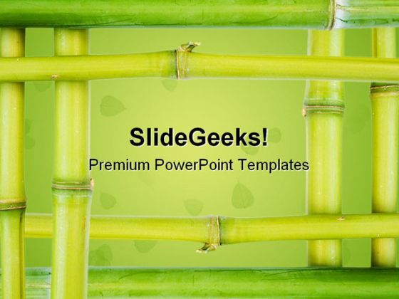 bamboo borders nature powerpoint templates and powerpoint
