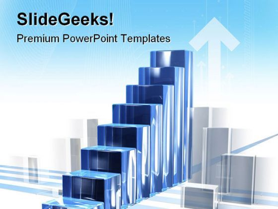 Bar Chart In Motion Business PowerPoint Templates And PowerPoint Backgrounds 0511  Presentation Themes and Graphics Slide01