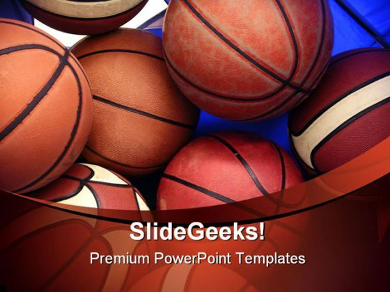 Basketball Sports PowerPoint Backgrounds And Templates 1210  Presentation Themes and Graphics Slide01