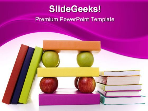 Books Education PowerPoint Backgrounds And Templates 1210  Presentation Themes and Graphics Slide01