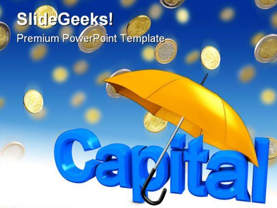 Capital Money PowerPoint Backgrounds And Templates 1210  Presentation Themes and Graphics Slide01