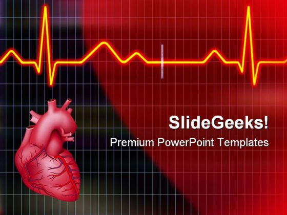 Cardiogram Medical PowerPoint Templates And PowerPoint Backgrounds 0511  Presentation Themes and Graphics Slide01