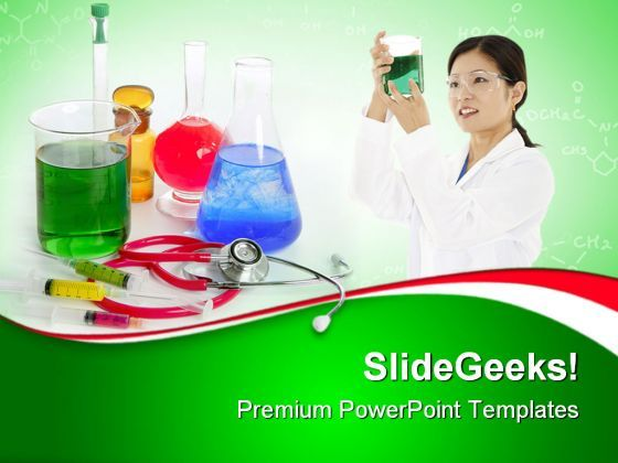 Chemical Research Laboratory Medical PowerPoint Templates And PowerPoint Backgrounds 0611  Presentation Themes and Graphics Slide01