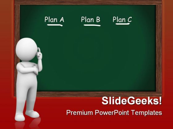 Choosing Plan Business PowerPoint Templates And PowerPoint Backgrounds 0511  Presentation Themes and Graphics Slide01