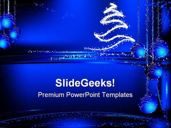 Christmas01 Abstract PowerPoint Background And Template 1210  Presentation Themes and Graphics Slide01