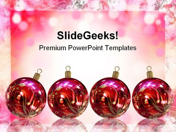 Christmas Card Festival PowerPoint Backgrounds And Templates 1210  Presentation Themes and Graphics Slide01