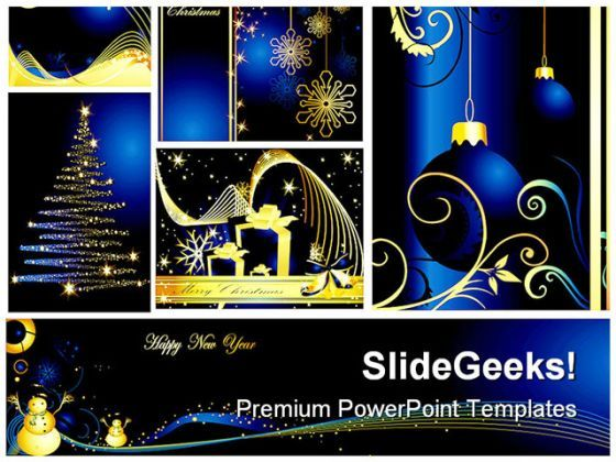 Christmas Collage Festival PowerPoint Backgrounds And Templates 0111  Presentation Themes and Graphics Slide01