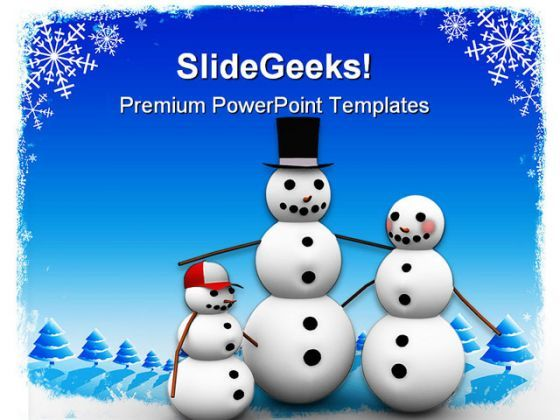 Christmas Family PowerPoint Backgrounds And Templates 0111  Presentation Themes and Graphics Slide01