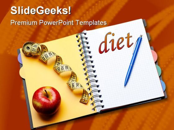 Diet Health PowerPoint Backgrounds And Templates 1210  Presentation Themes and Graphics Slide01