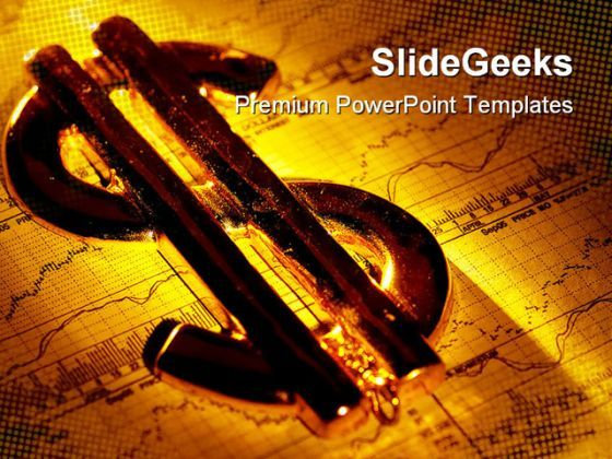 Dollar Sign01 Finance PowerPoint Backgrounds And Templates 1210  Presentation Themes and Graphics Slide01