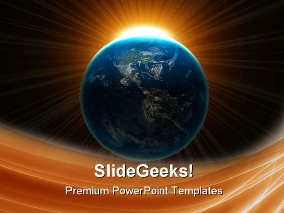 Earth Globe PowerPoint Templates And PowerPoint Backgrounds 0511  Presentation Themes and Graphics Slide01