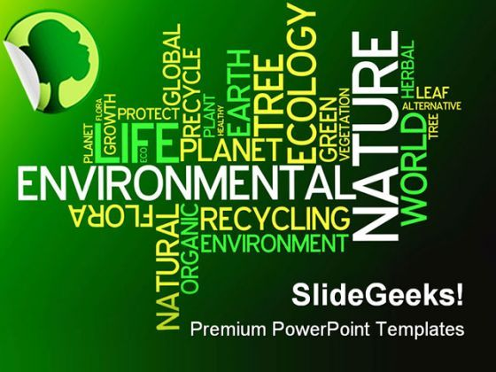 Ecology Environmental Nature PowerPoint Templates And PowerPoint Backgrounds 0211  Presentation Themes and Graphics Slide01