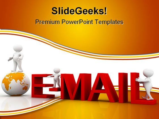 Email Internet Global PowerPoint Templates And PowerPoint Backgrounds 0111  Presentation Themes and Graphics Slide01