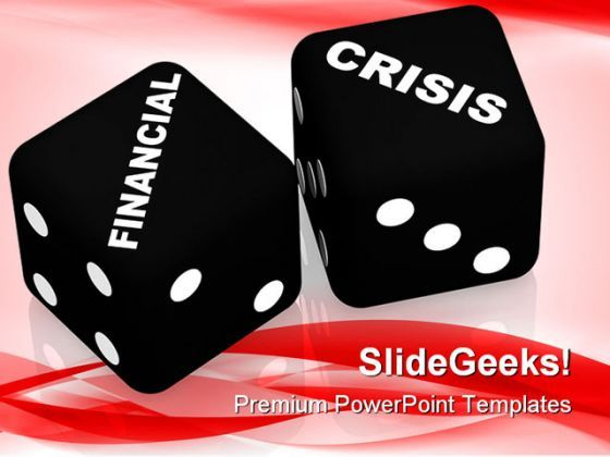 Financial Crisis Business PowerPoint Templates And PowerPoint Backgrounds 0211  Presentation Themes and Graphics Slide01
