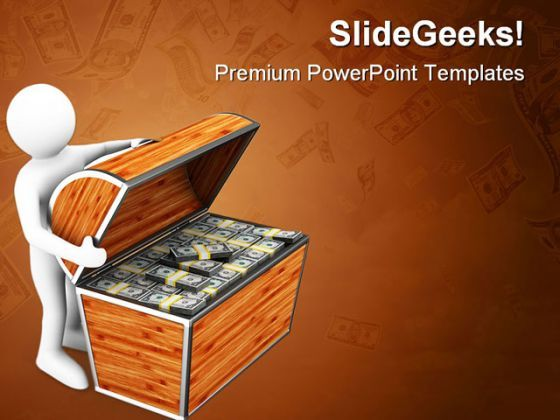 Find Treasure Money PowerPoint Backgrounds And Templates 1210  Presentation Themes and Graphics Slide01