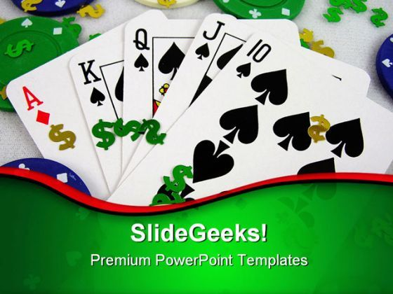 Gambling Game Powerpoint Templates And Powerpoint