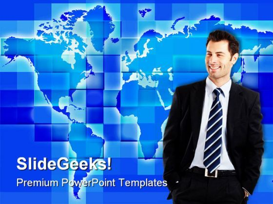 Globalization People PowerPoint Background And Template 1210  Presentation Themes and Graphics Slide01
