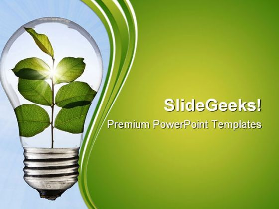 Go Green Environment PowerPoint Templates And PowerPoint Backgrounds 0611  Presentation Themes and Graphics Slide01