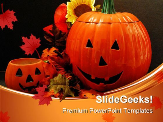 Happy Halloween01 Festival PowerPoint Templates And PowerPoint Backgrounds 0511  Presentation Themes and Graphics Slide01